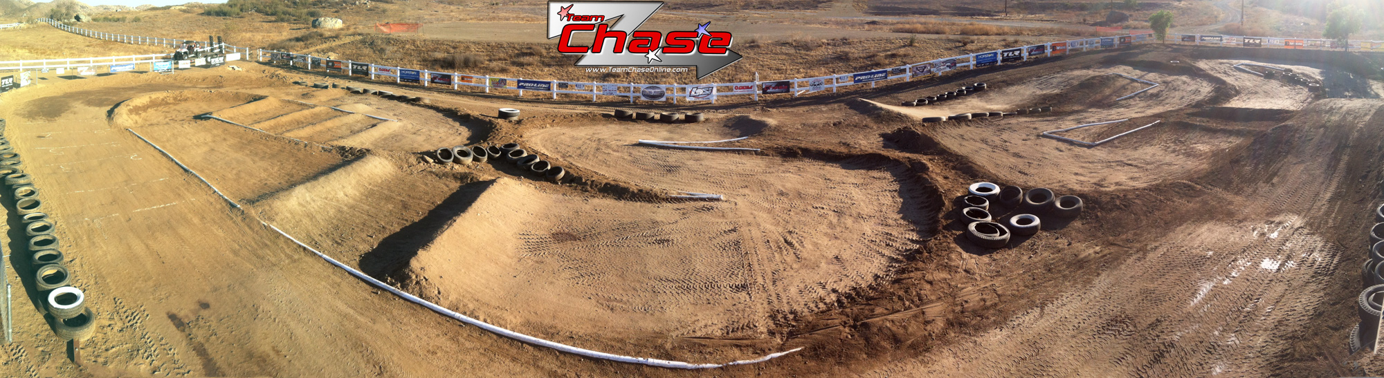 large scale teamchase track