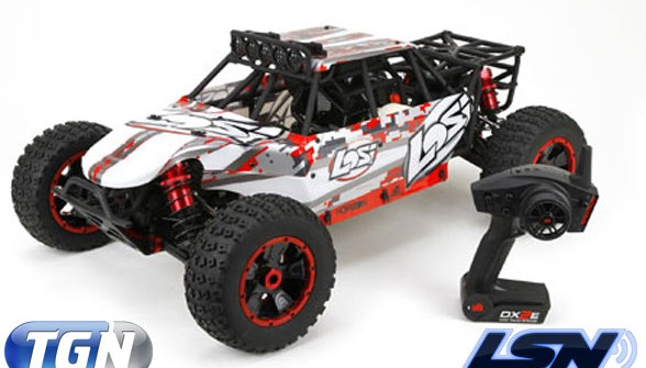 Losi DBXL 4WD 1/5 Scale is now shipping. Desert Buggy XL hits lucky owners!