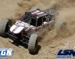 losi desert buggy xl dbxl LOS05001 in action